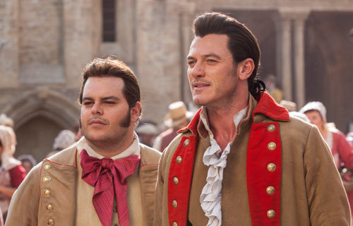 Gaston with his number 1 fan LeFou