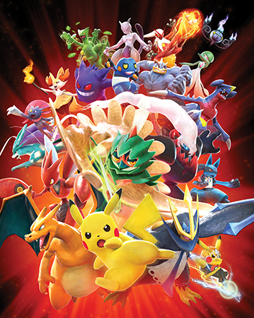Pokkén Tournament artwork for the new game.