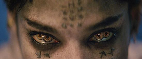 The weird eyes of Princess Ahmanet