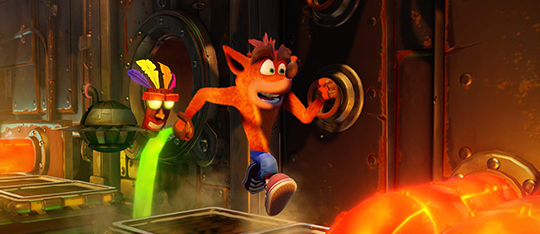 Crash Bandicoot N. Sane Trilogy PS4 Game Review