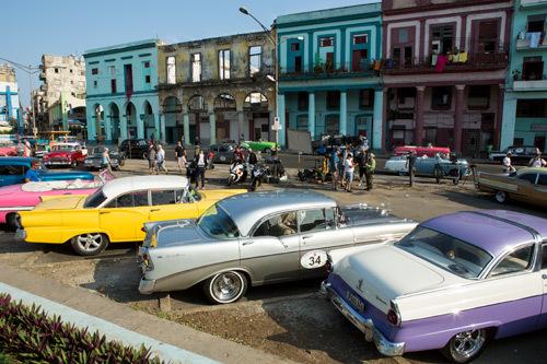 Hot classic cars in Cuba
