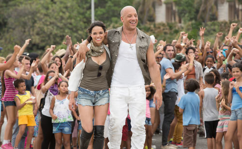 Dom and Letty in Cuba