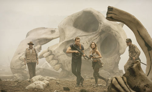 In the boneyard of Kong's dead relatives