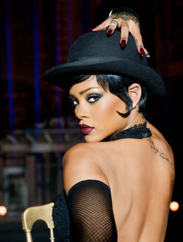 Rihanna as shapeshifting Bubbles