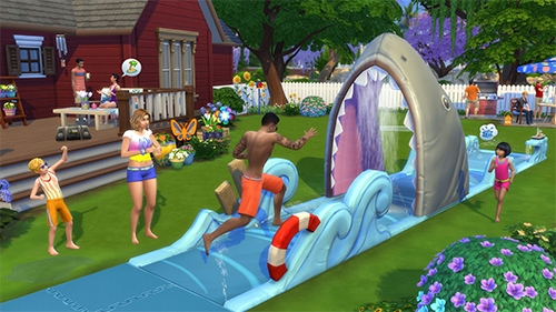 The Sims 4 is swimming with new content.