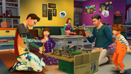 A screen from the PC version of The Sims 4.