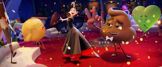Poop flirts with Flamenca