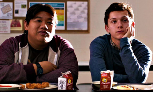 Peter and his buddy admire a hot classmate