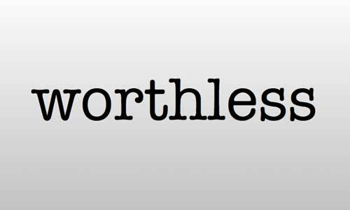They might try to make you feel worthless, but you can't let them.