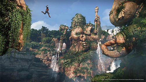 Uncharted's gorgeous vistas return to the new game.