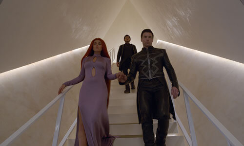 Queen Medusa, King Black Bolt with Maximus