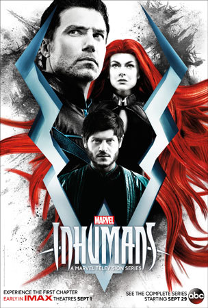 Poster for Marvel's Inhumans Series