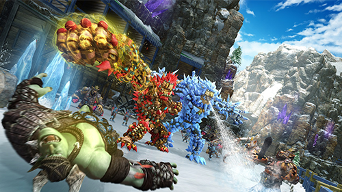 Knack 2's big new addition is the game's co-op.
