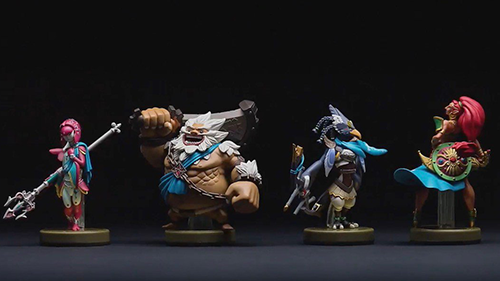 The Amiibos compatible with the upcoming Zelda DLC.