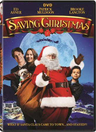 Saving Christmas Trailer DVD