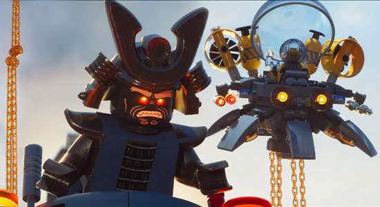 Garmadon and his forces attack the city