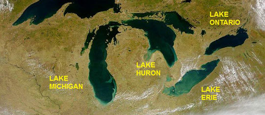 All About the Great Lakes