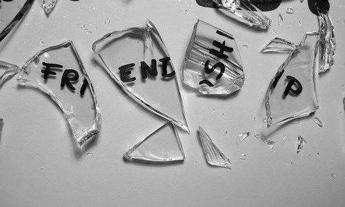 A broken friendship can feel like a broken heart.