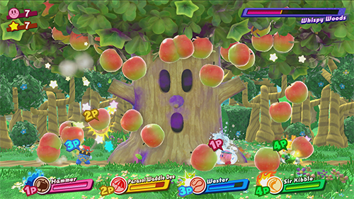 Multiplayer is a focus in Kirby Star Allies