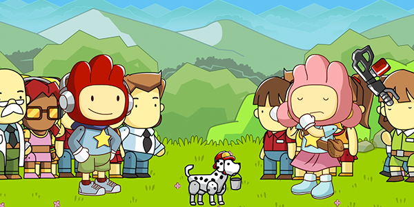 Scribblenauts Showdown Coming in March