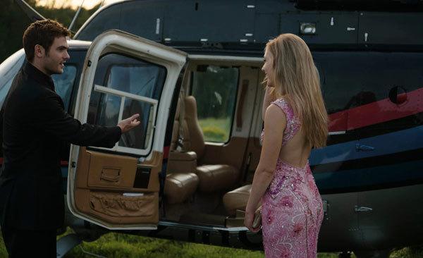 Rich music star Liam takes Josie on a dream date