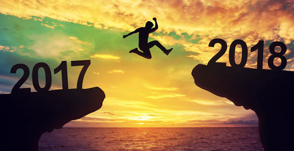 Take the leap into the new year with positivity.