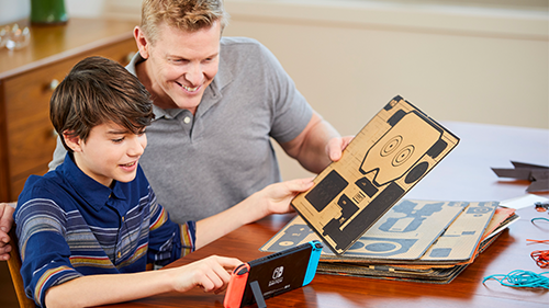 Building your Labo sets could require a bit of help.
