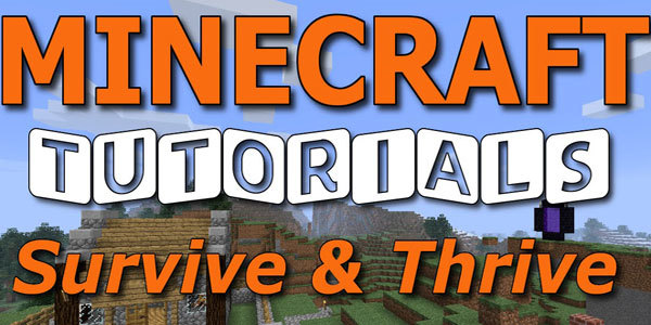 Feature minecraft survive thrive feat
