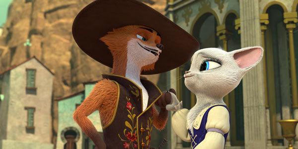 Guy Fox and Dulcinea