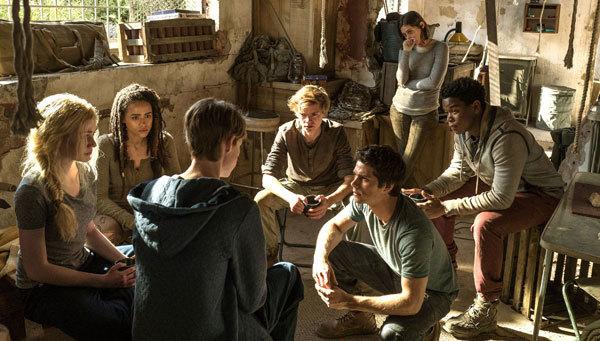 Thomas and group meet to make a plan