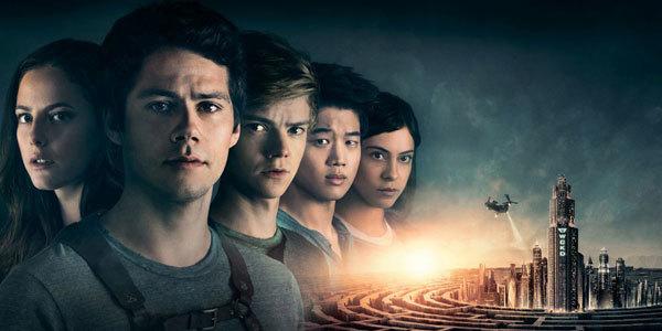 Teresa, Thomas, Newt, Minho and Brenda