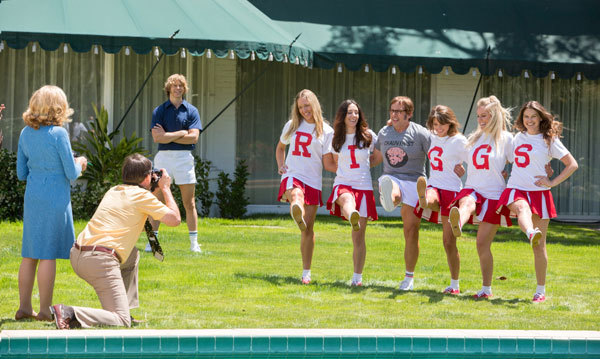 Bobby Riggs (Steve Carell) in one of his publicity stunts