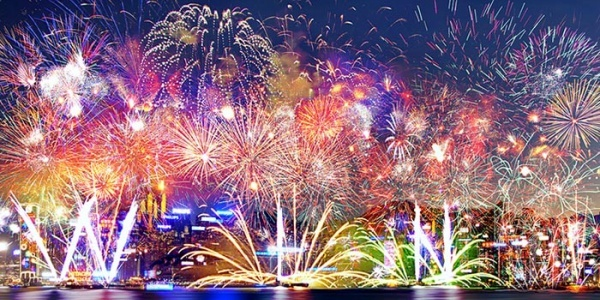 Fireworks were invented in China in around 200 BCE when people roasted hollow bamboo sticks over a fire until they exploded in order to ward off evil spirits. 800 years later, they accidentally discovered gunpowder, which they then stuffed into the bamboo