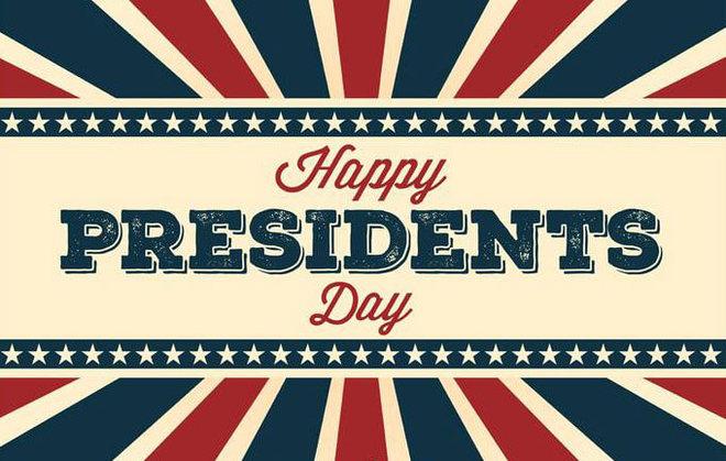 Happy Presidents Day!