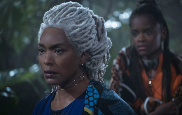T'Challa's mother Ramonda asks for help