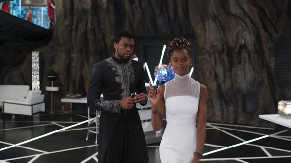 Shuri loves showing her brother her new inventions