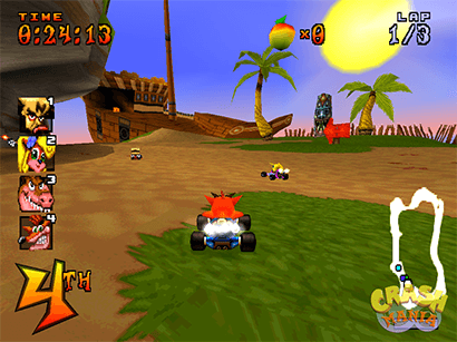 Now imagine this classic looking as good as the N. Sane Trilogy.