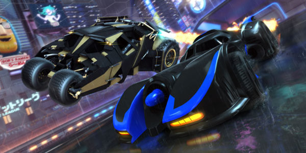 DC Super Heroes DLC Pack Coming to Rocket League