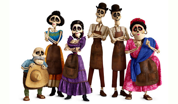 Some of Miguel's Land of the Dead family