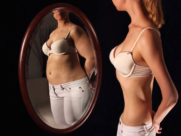 Eating disorders make you lack self-awareness.