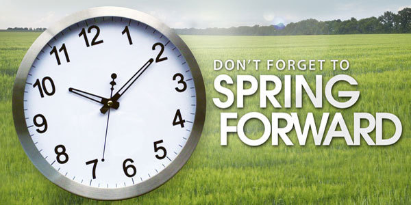 Feature spring forward clock feat