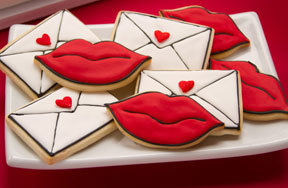 Preview envelope kiss cookies valentine pre