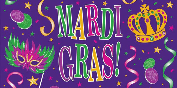 Feature mardi gras holiday feat