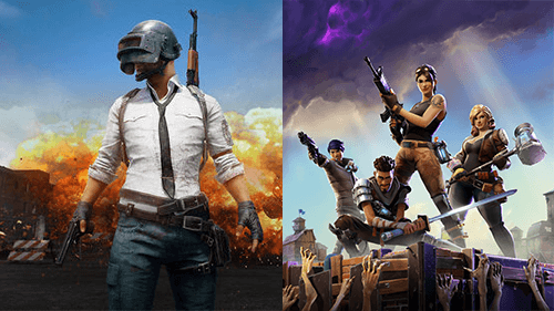 PUBG and Fortnite are the champions of the Battle Royale game type.