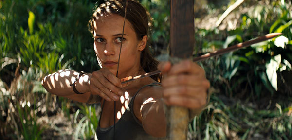 Lara uses archery instead of guns
