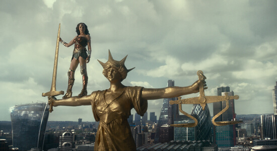 Wonder Woman stands for Justice