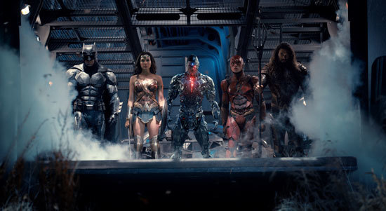 The League (without Superman)