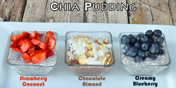 Top your chia pudding with fruit, nuts, or dark chocolate to add a fun burst of flavor and extra vitamins, too.