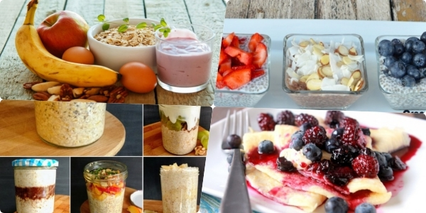 No-Cook Energy-boosting Breakfasts