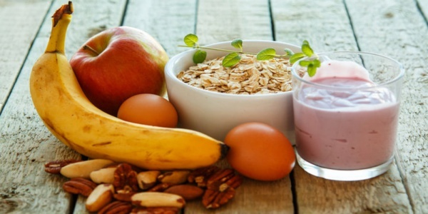 Start with whole foods like fruits, grains, nuts, eggs, and yogurt and you'll have all the ingredients you'll need for a good breakfast